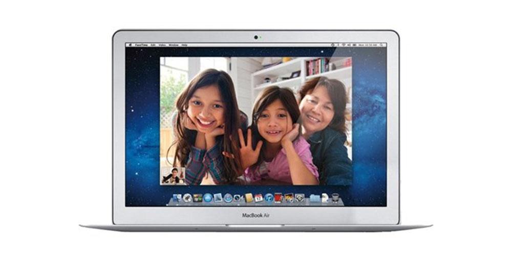 Press image of an Apple laptop.
