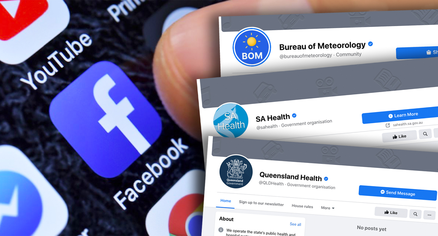 Crucial non-news pages caught up in Facebook shutdown