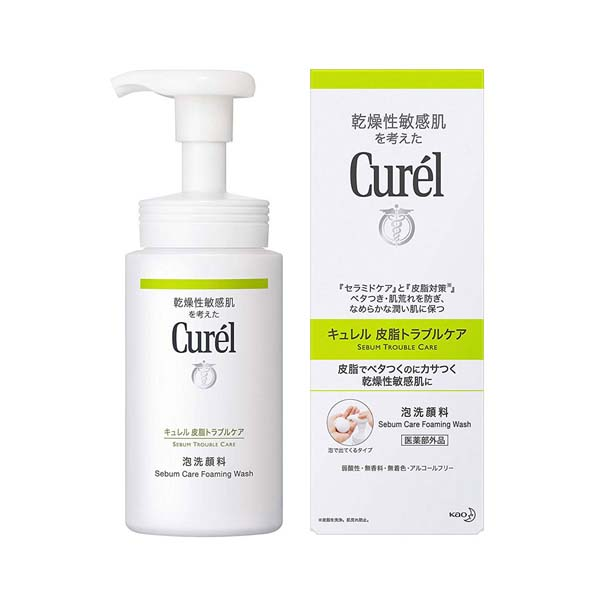 花王Curel油亮問題肌潔顏泡沫,NT$480