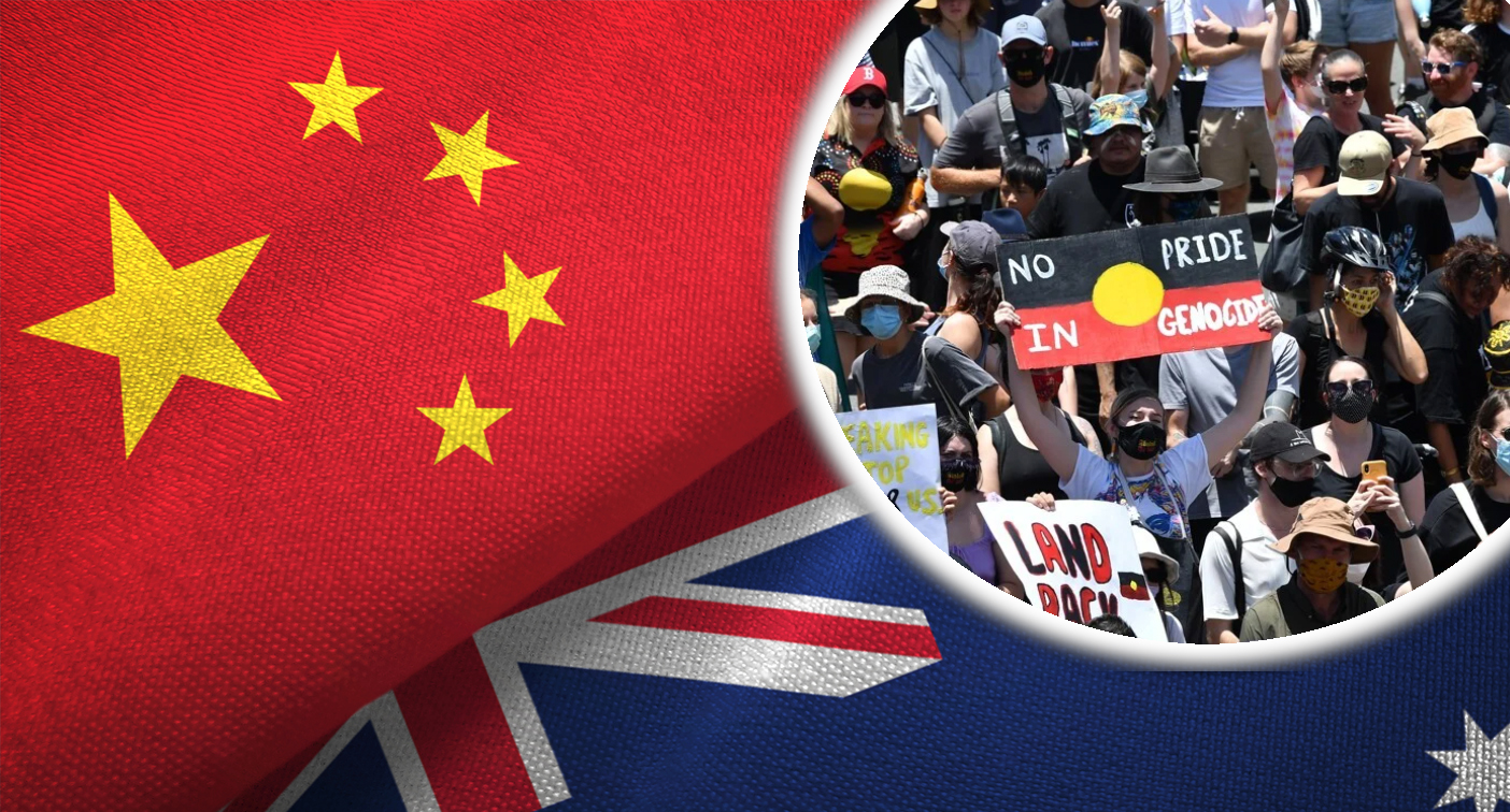 Chinese newspaper blasts Australia over our 'identity crisis'