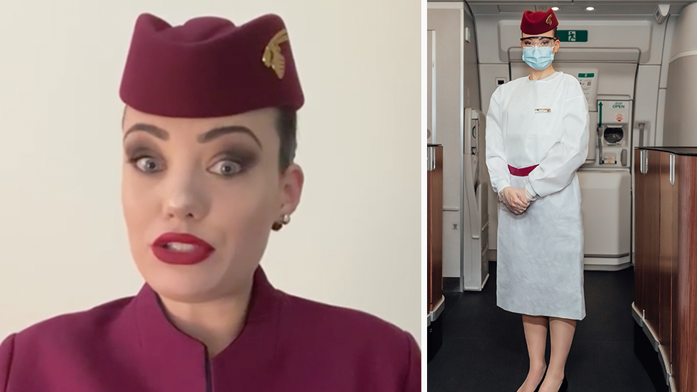 Flight attendant reveals surprising covid change on flights