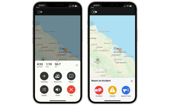 iOS 14.5 Apple Maps