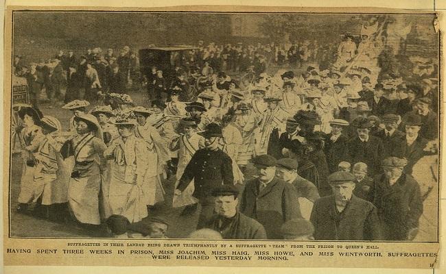 Cuando las sufragistas británicas tuvieron que hacer uso de la violencia y atentados para conseguir su propósito