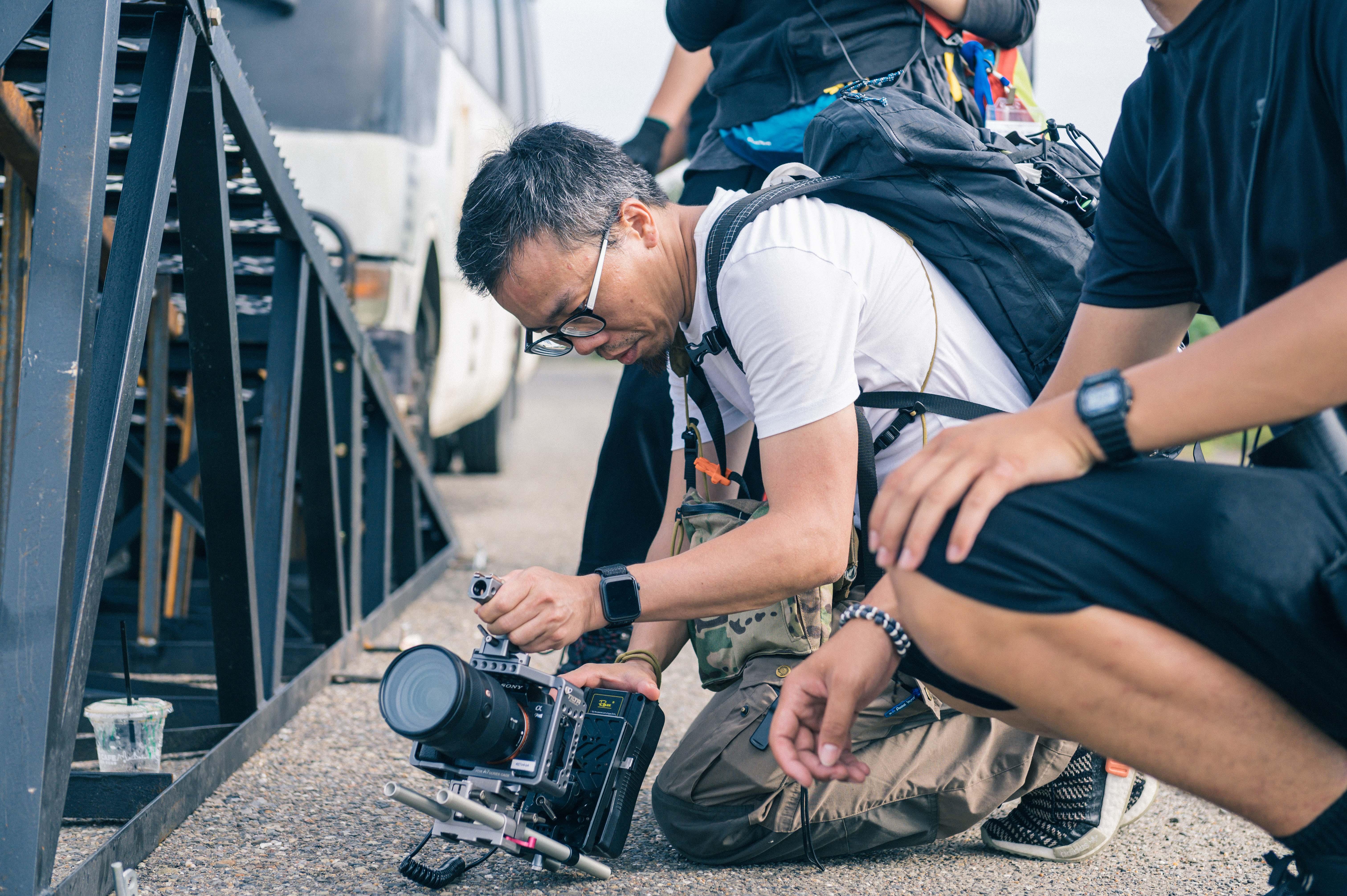 《複身犯》導演蕭力修拍攝巴士翻覆畫面
