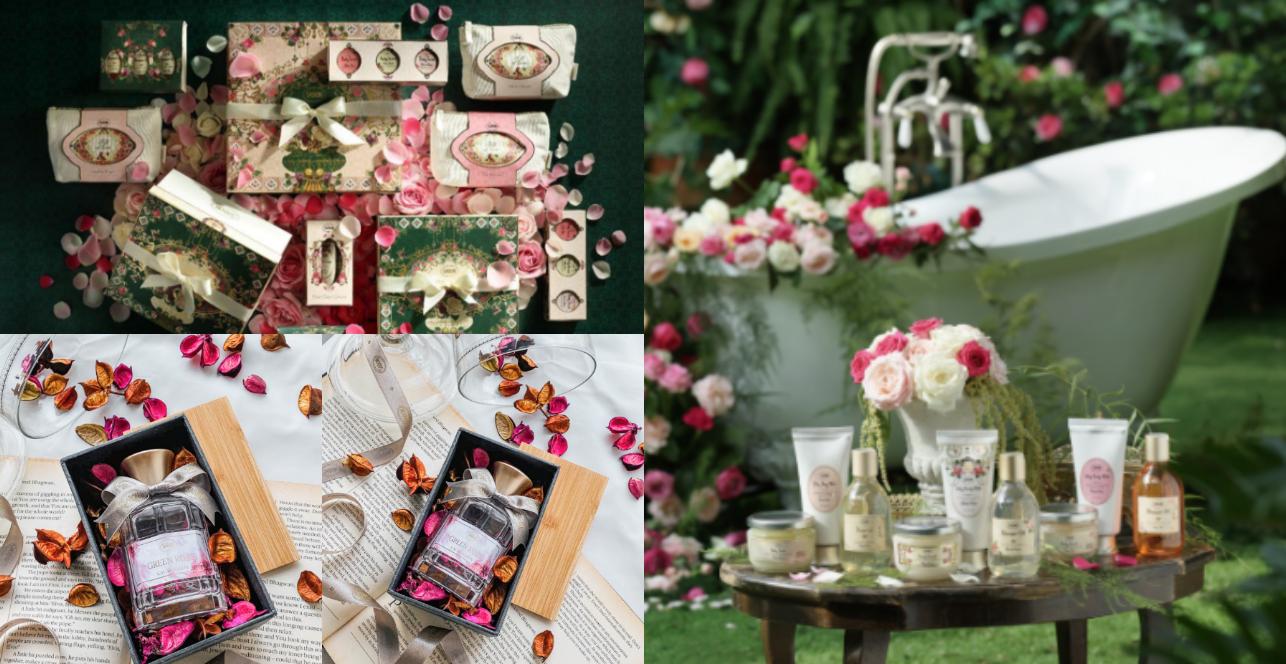 2021年SABON為大家帶來玫瑰秘境「白玫瑰系列」,白玫瑰的香氣呈現新鮮初摘的佛手柑,連綠葉都尚未墜落,揉合著優雅浪漫的白玫瑰花瓣與茉莉花香,傳遞出浪漫的柔美與純真。除了全新單品外,SABON 還精心準備充滿玫瑰香氣的禮盒,從沐浴油到磨砂膏,每一件都能打動另一半的心。