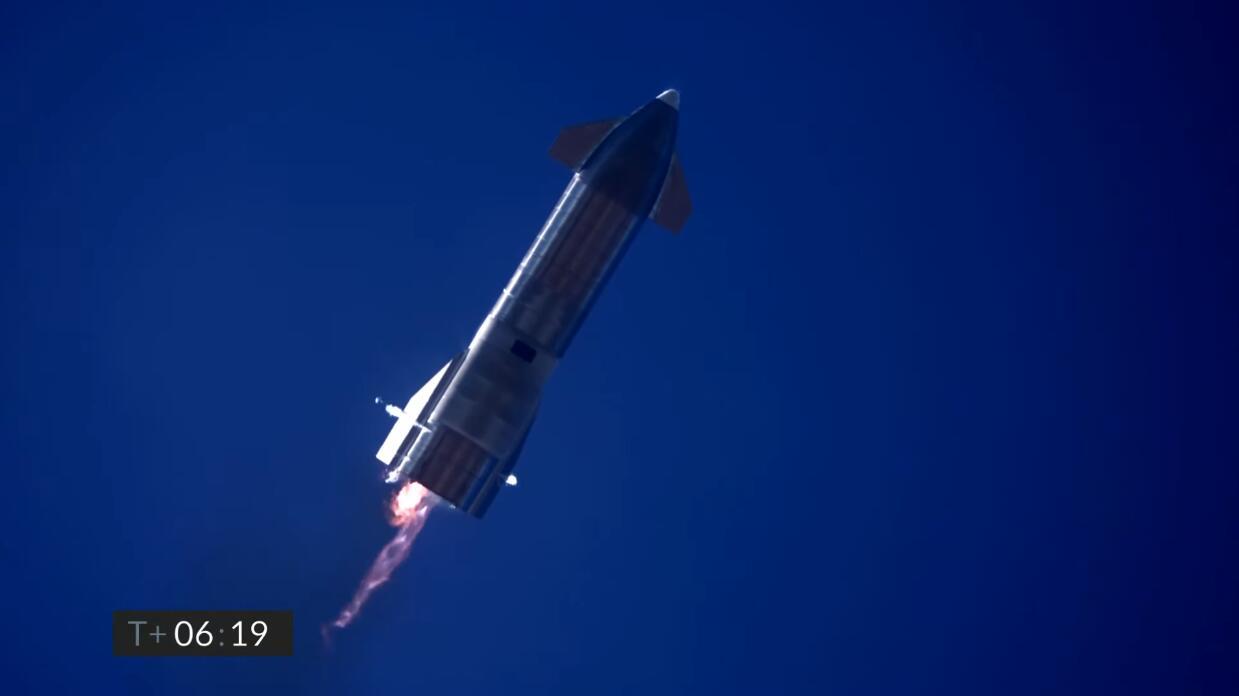 Starship SN9 test