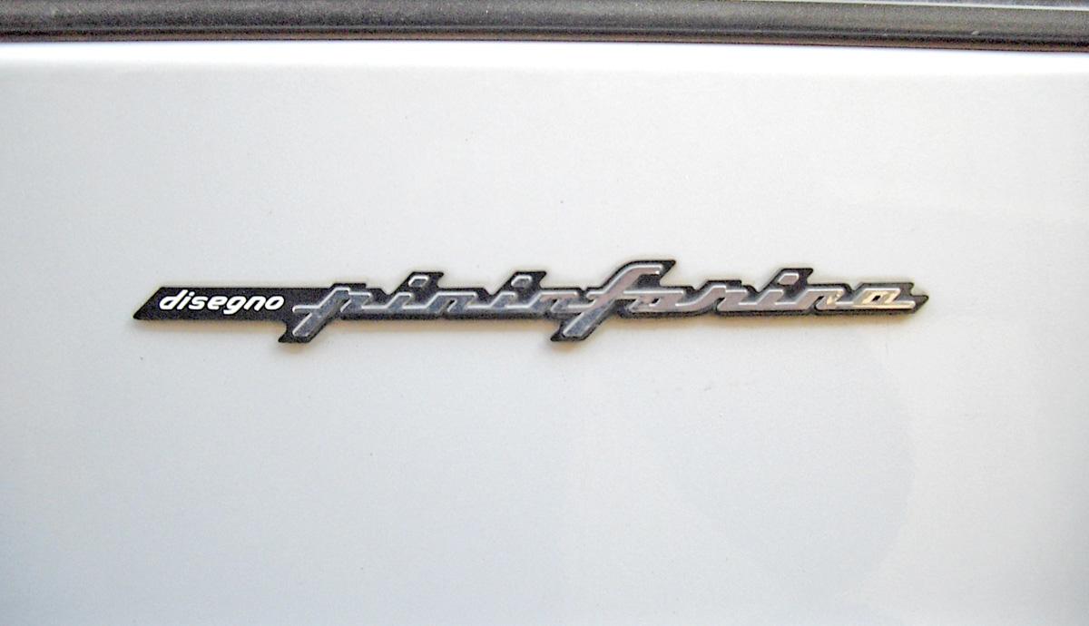 只要是Pininfarina設計的車款,都會有Pininfarina的獨家銘牌 ©Corvettec6r
