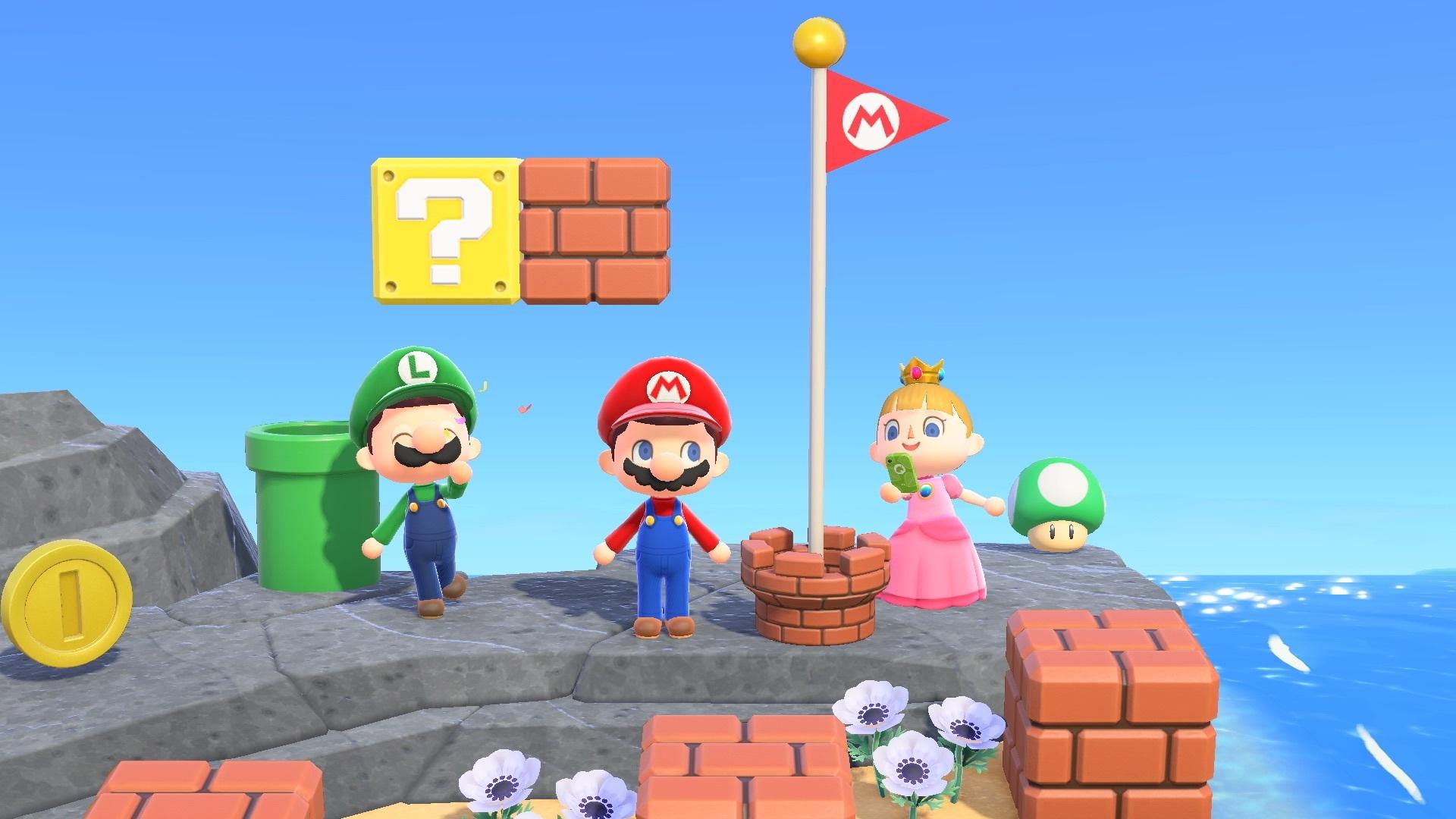 Animal Crossing x Super Mario