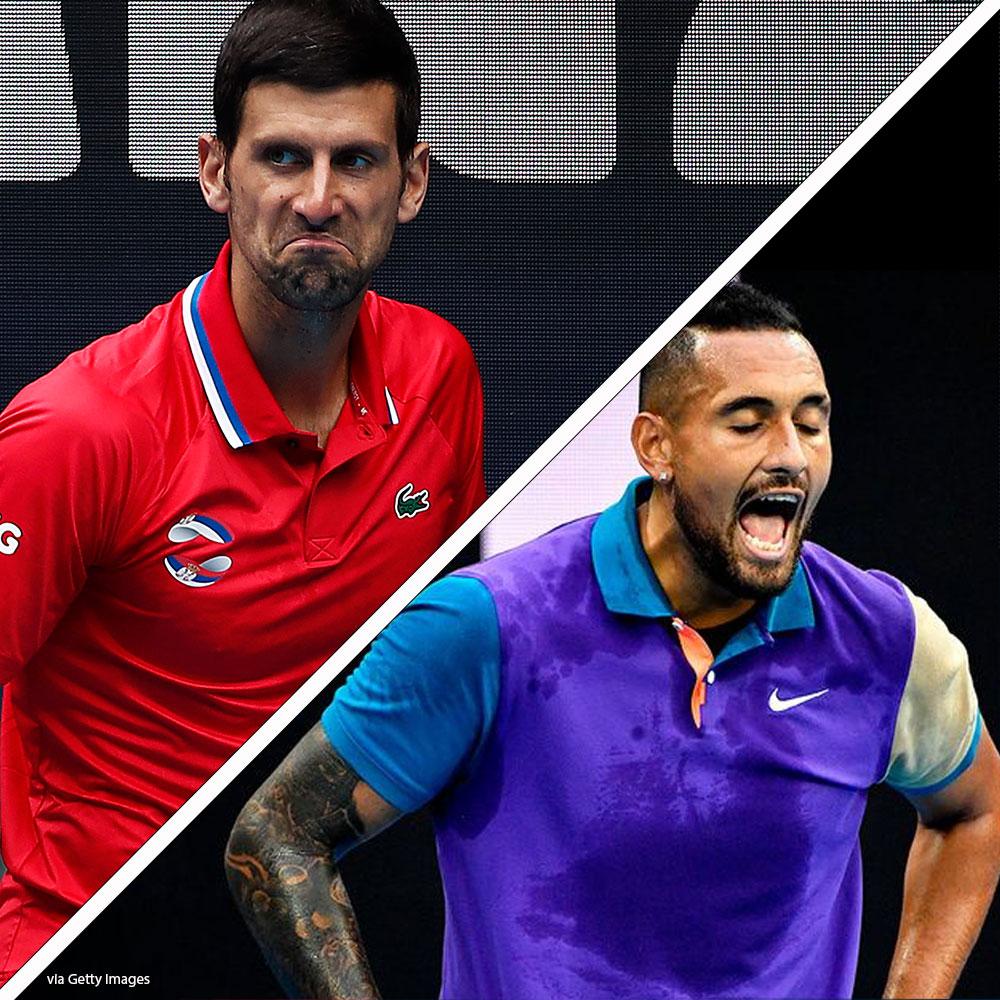 Nick Kyrgios' perfect response to Novak Djokovic slur