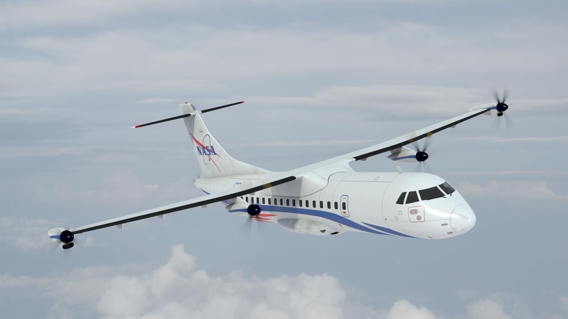 NASA電動飛機