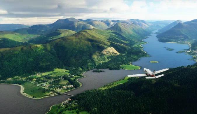 Microsoft Flight Simulator Britain update