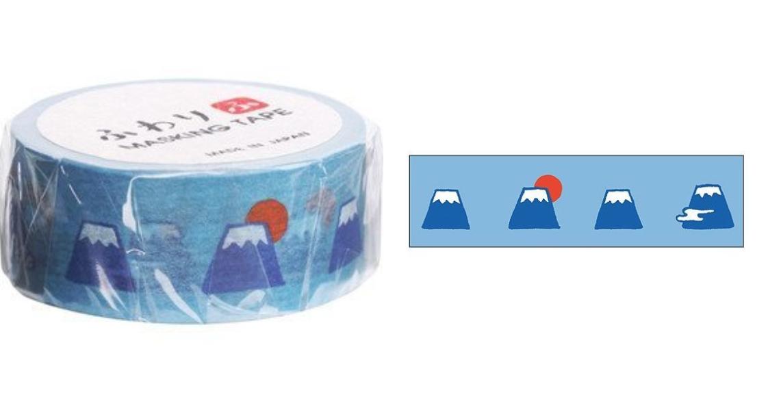 Fuwari伊予和紙指的是愛媛縣四國中央市週邊地區所生產的和紙,目前愛媛縣四國中央市所生產的紙製品出貨量是日本第一,又被稱為日本的紙城市。Fuwari紙膠帶系列圖案樣式簡單又不失可愛,讓顧客在使用的時候更能加倍感受到紙的溫度跟質感。