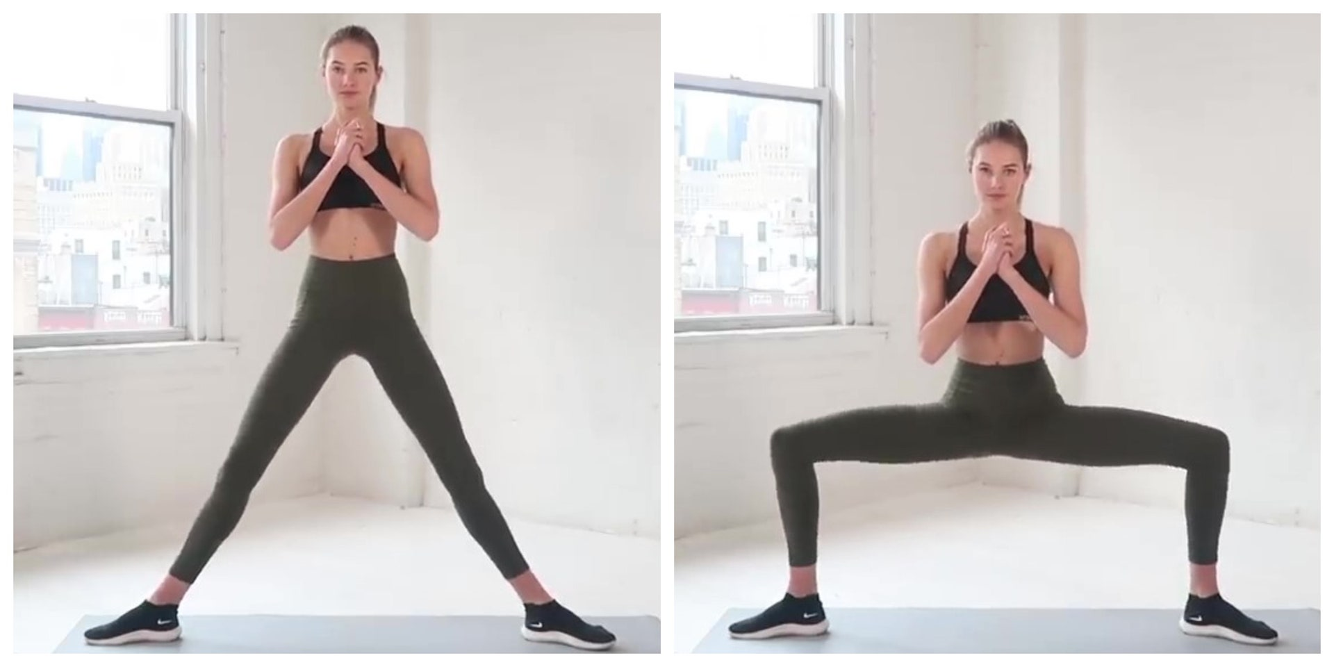 【VG享受運動】消除大腿內側贅肉5招跟著超模Sanne在家練出緊實美腿