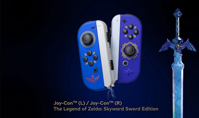 塞爾達傳說:天空之劍HD Joy-Con