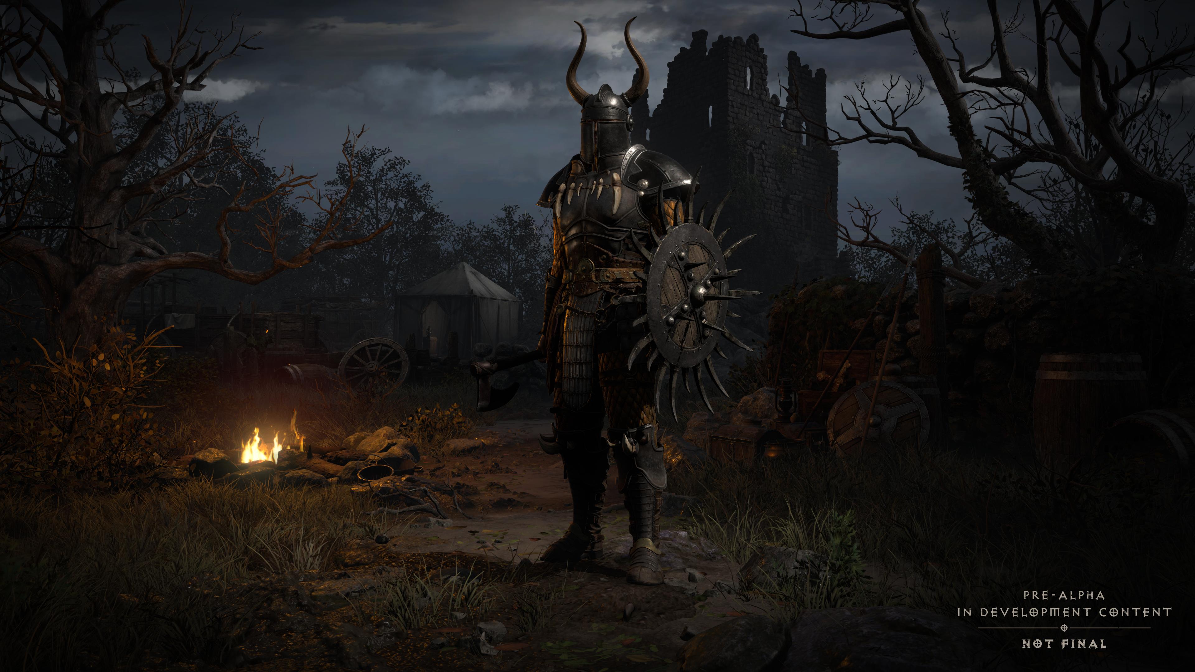 《暗黑破壞神II:獄火重生》高清角色登入介面