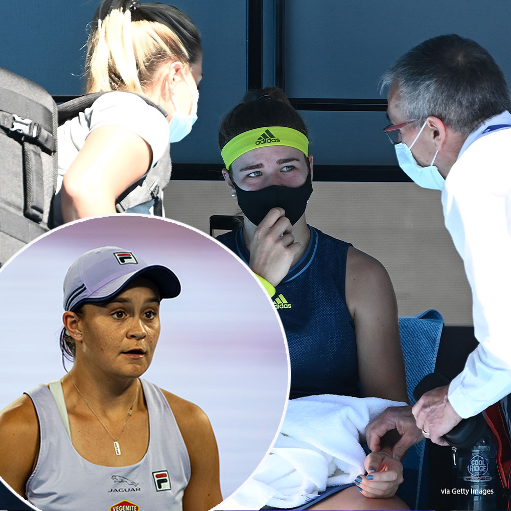 Ash Barty conqueror's shock admission amid medical timeout 'disgrace'