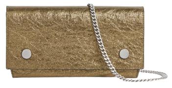 這款鍊帶掀蓋包就非常適合帶去參加派對,特別是古銅金和銀釦的組合,讓你省去選色煩惱,兩個願望一次滿足!