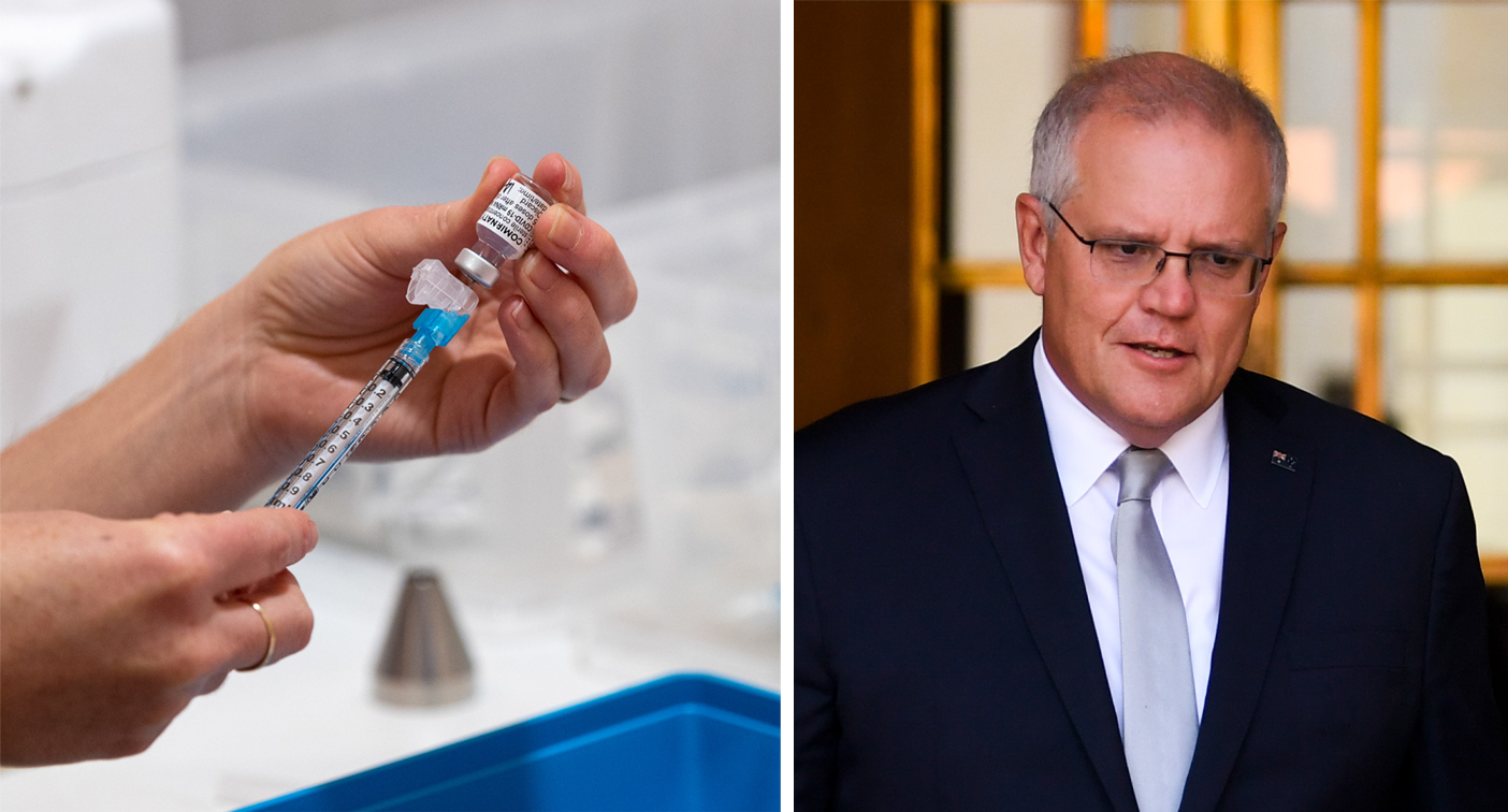 PM reveals 'next step' in vaccine rollout