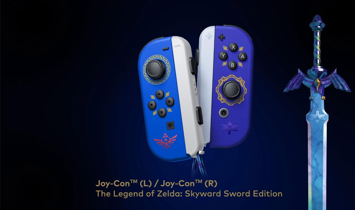 Zelda Joy-Cons