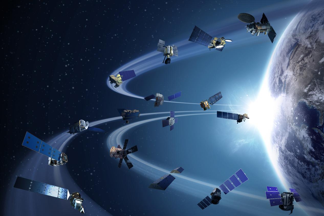 satellites earth