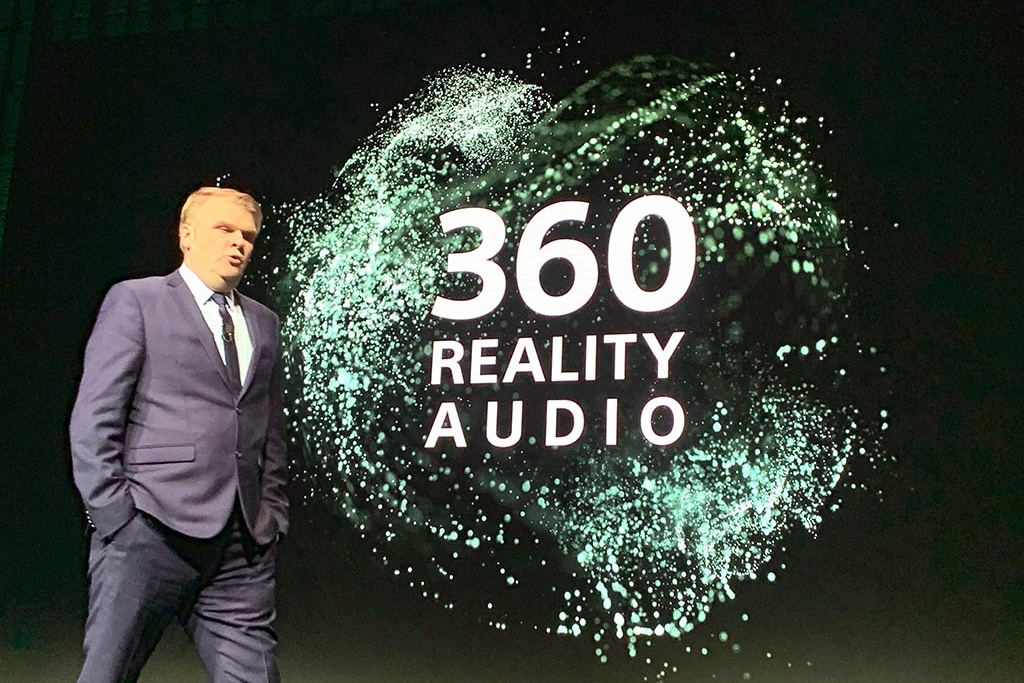 Sony announces 3D sound 360 Reality Audio for domestic expansion from April 16
