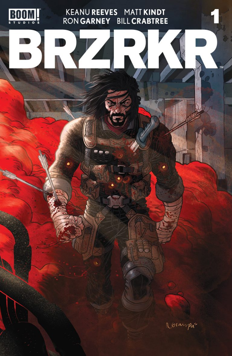 BRZRKR Keanu Reeves comics