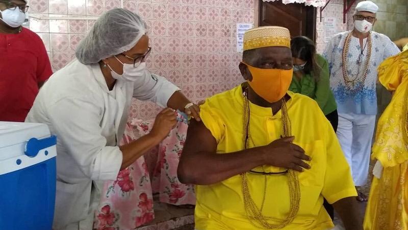 Pernambuco inicia vacinação das comunidades quilombolas