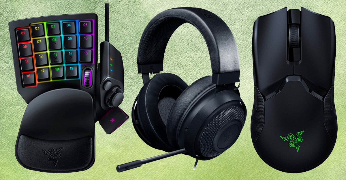 Game on! Amazon just slashed prices on Razer gaming accessories by up to 58 percent, today only - Yahoo Lifestyle
