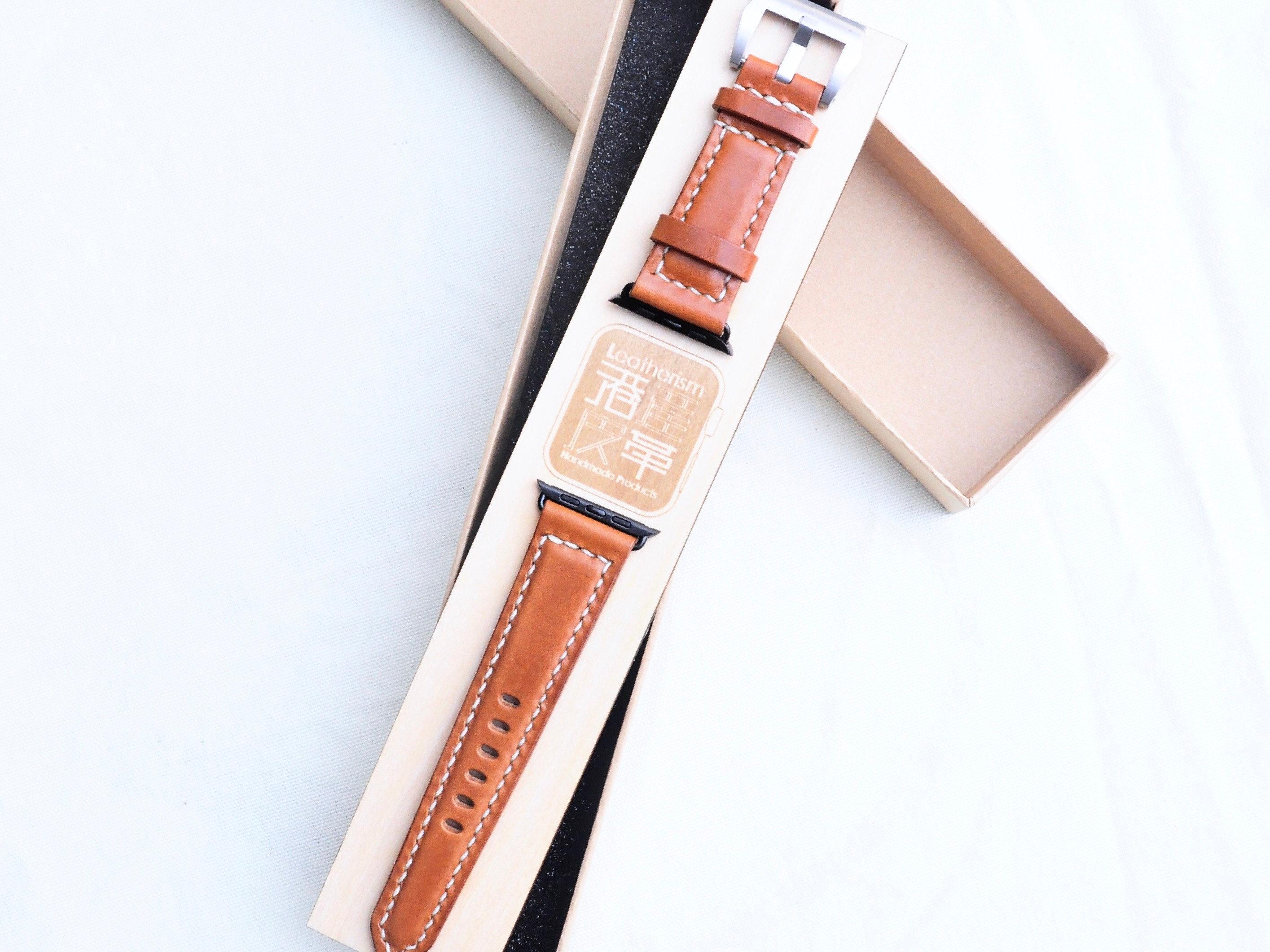 港產皮革 Apple Watch 錶帶皮革 DIY 材料包