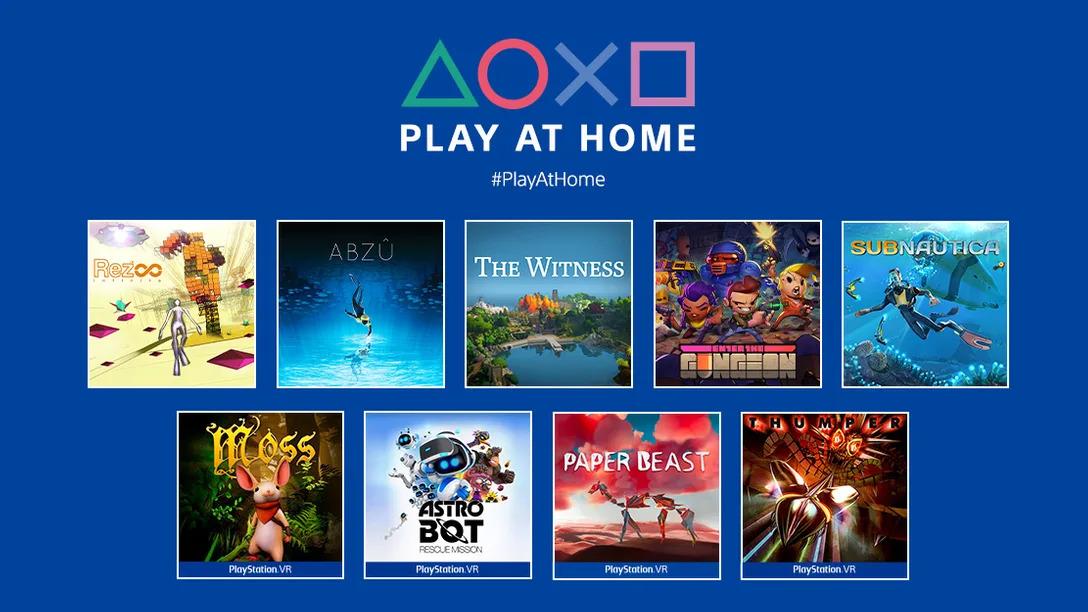 Play at Home PlayStation