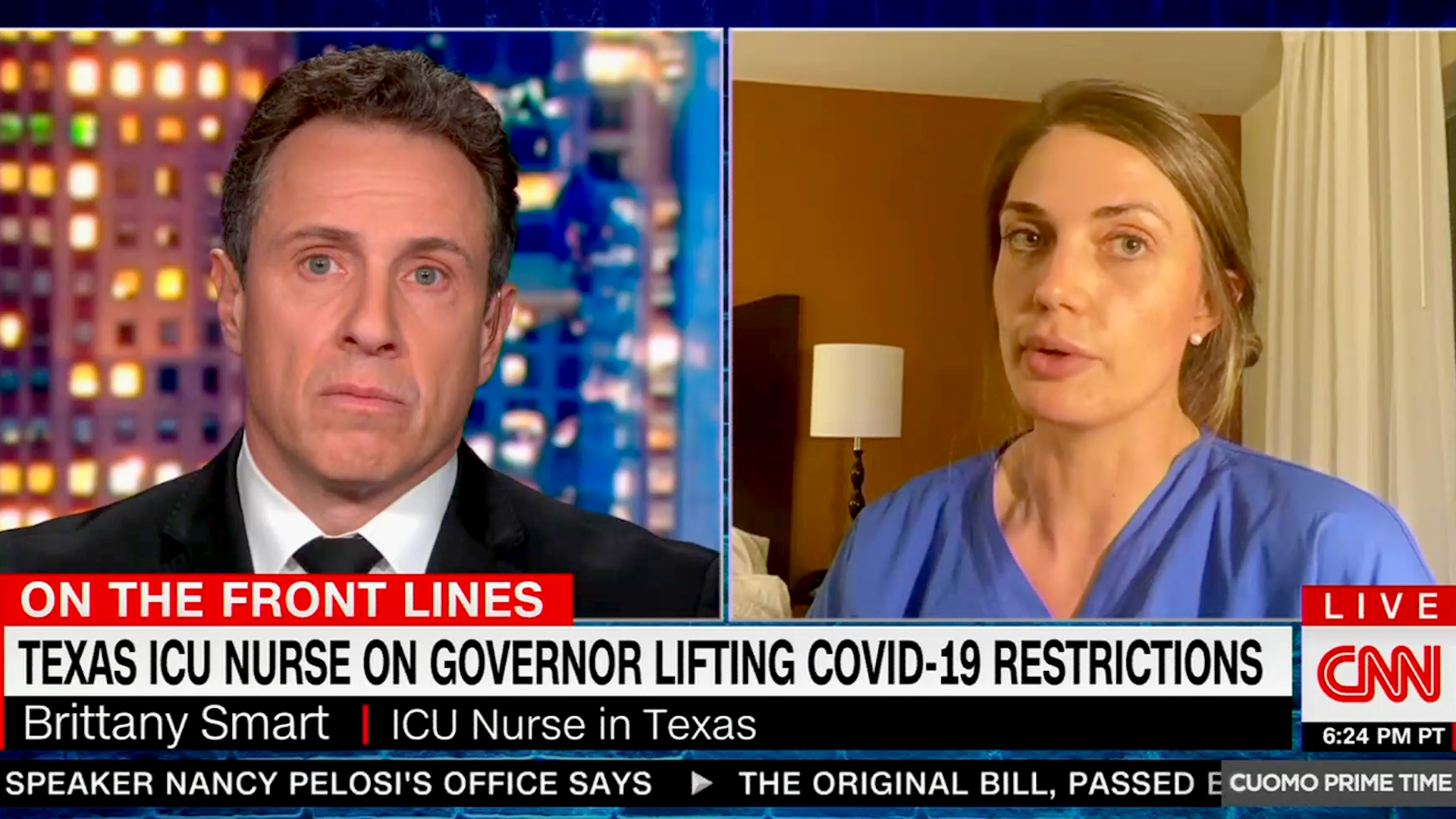 Texas ICU nurse weighs in on Texas lifting COVID restrictions: 'I'm scared of what this is gonna look like'
