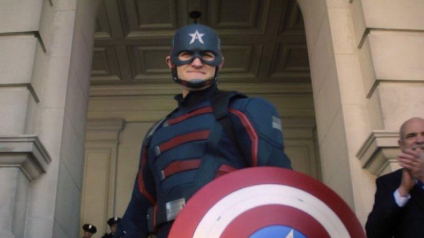Marvel Comics Captain America Door Key One Size Multicolored