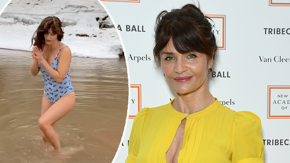 'Why?': Fans baffled by Helena Christensen's swimsuit video