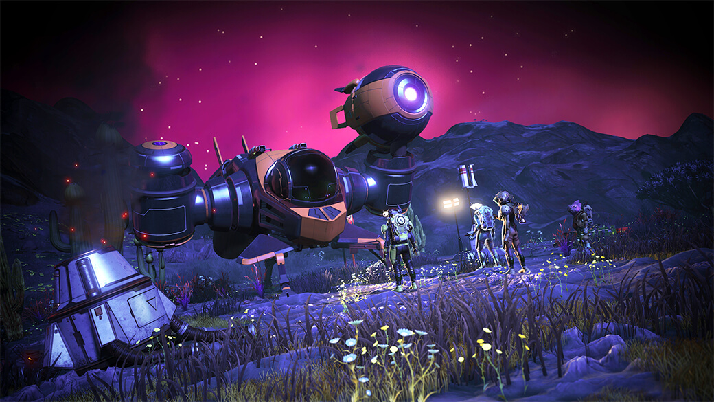 'No Man's Sky' adds seasonal missions in its latest update | Engadget
