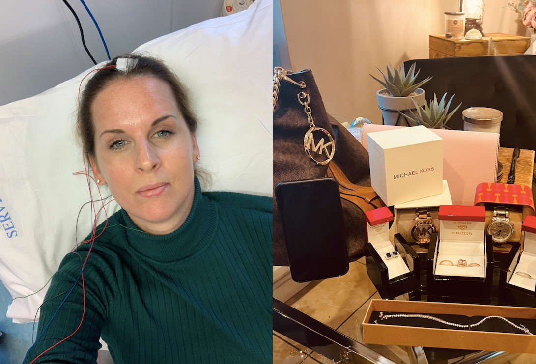 Kate McGinley has been diagnosed with Ehlers Danlos Syndome (EDS). (Caters)