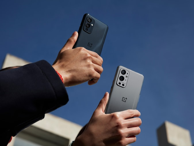 The OnePlus 9 and 9 Pro