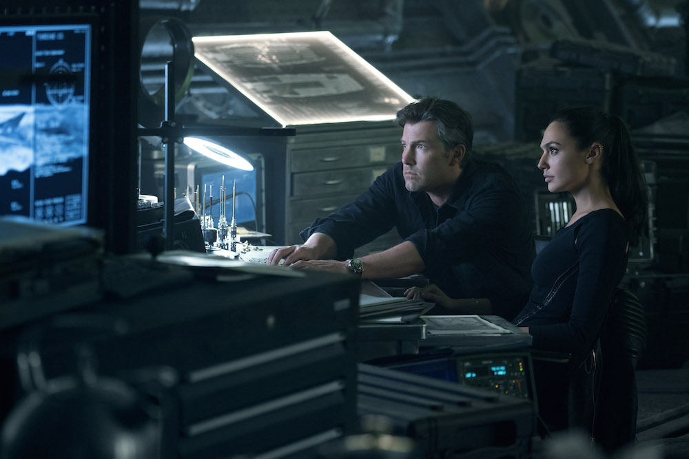 Bruce Wayne (Ben Affleck) and Diana Prince (Gal Gadot) in Zack Snyder's Justice League. (HBO)