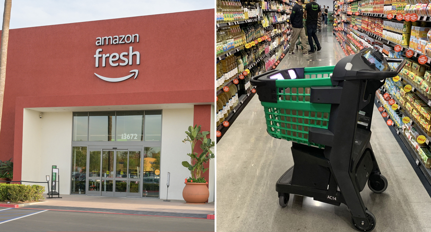 'Just walk out': Amazon launches checkout-free supermarket