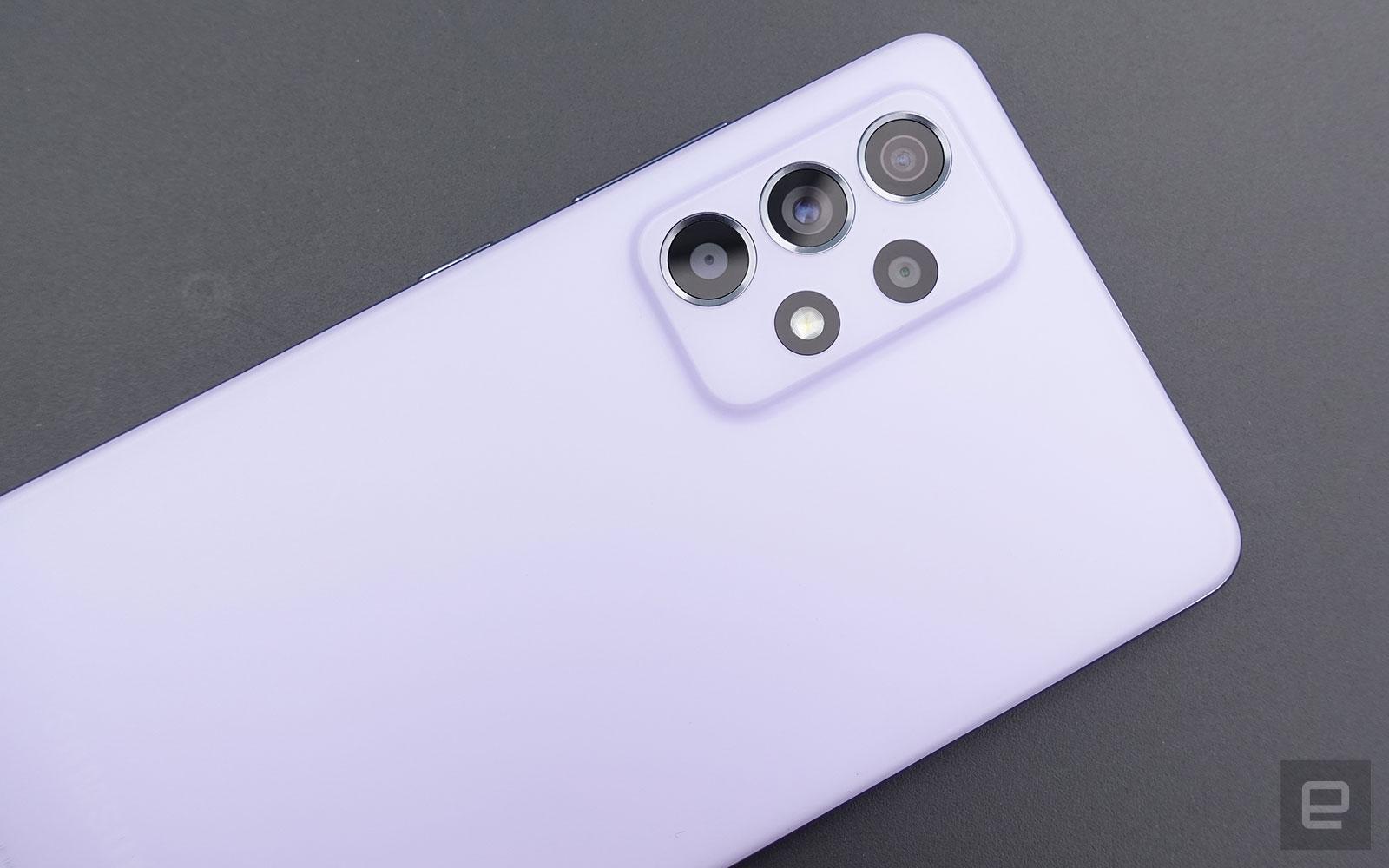 Samsung Galaxy A52 5G 香港動手玩