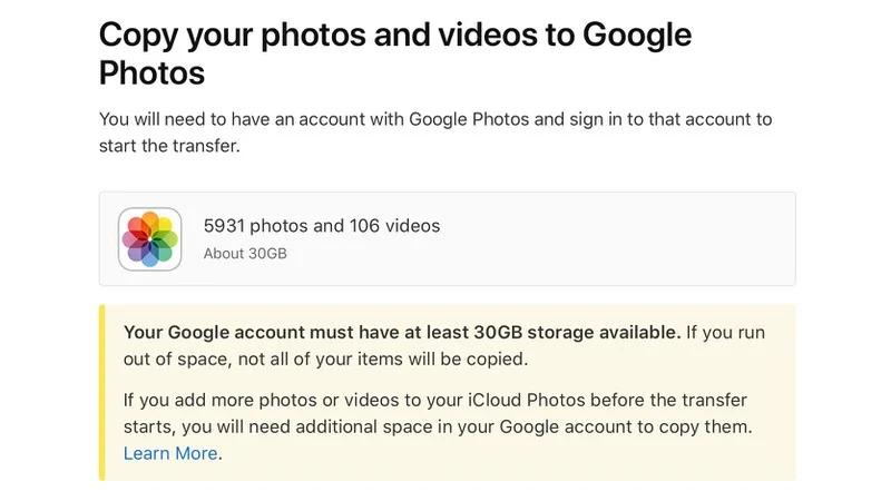 iCloud-Googlephoto