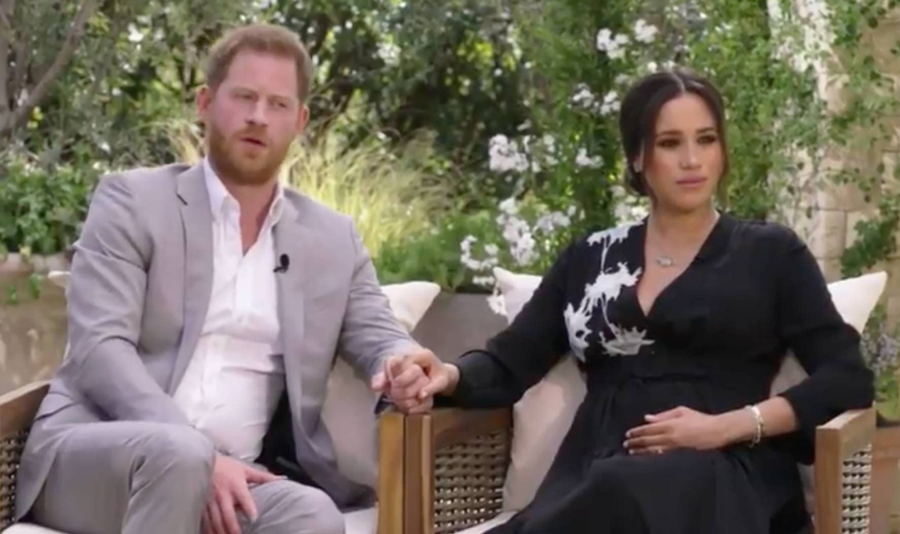 First look at Harry and Meghan's explosive Oprah tell-all