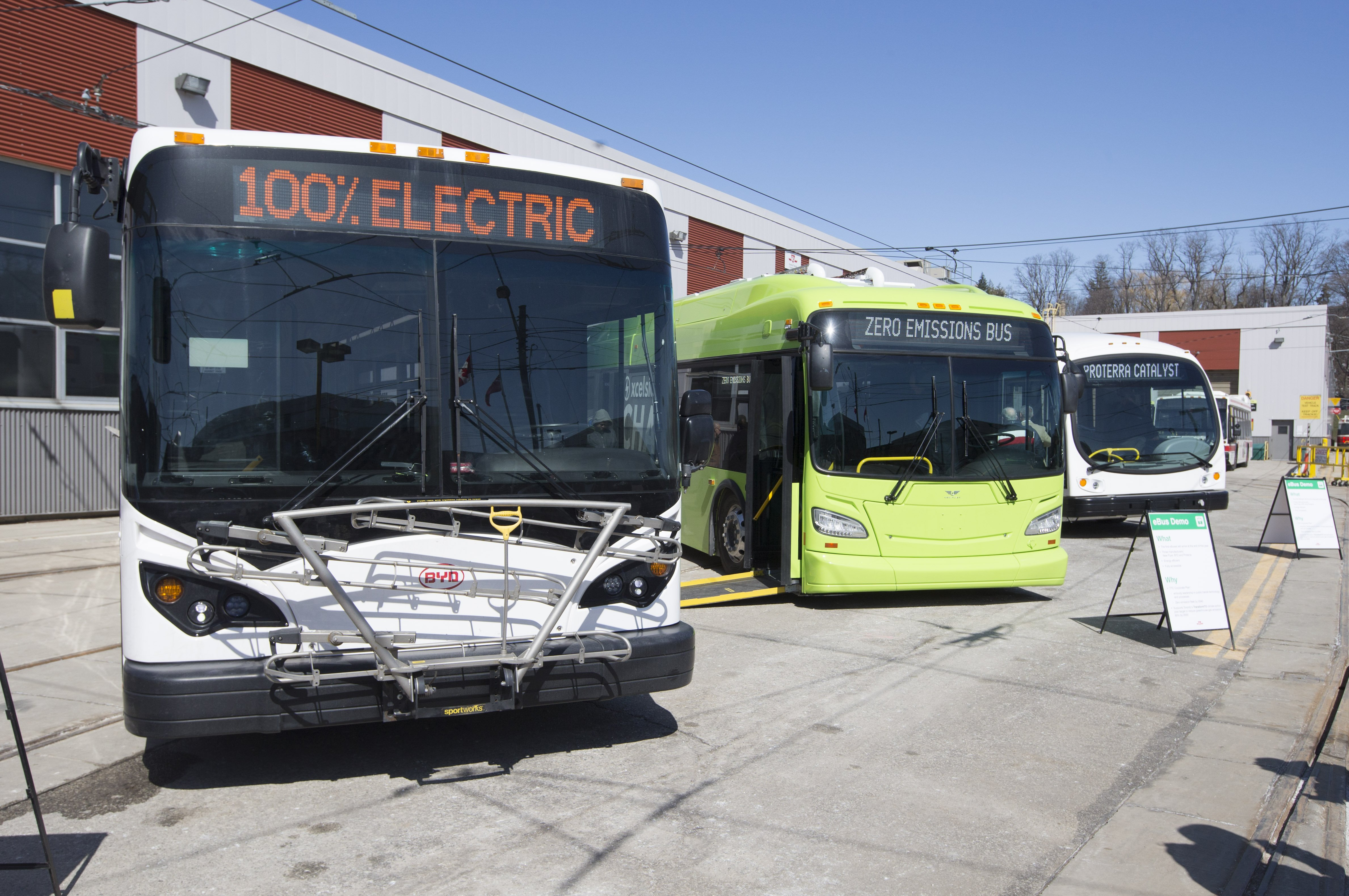 Canada will invest billions to electrify mass transit