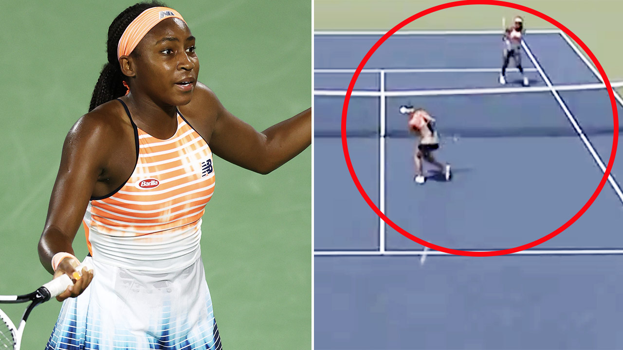 Coco Gauff's brutal act during spiteful clash with opponent – Yahoo Sport Australia