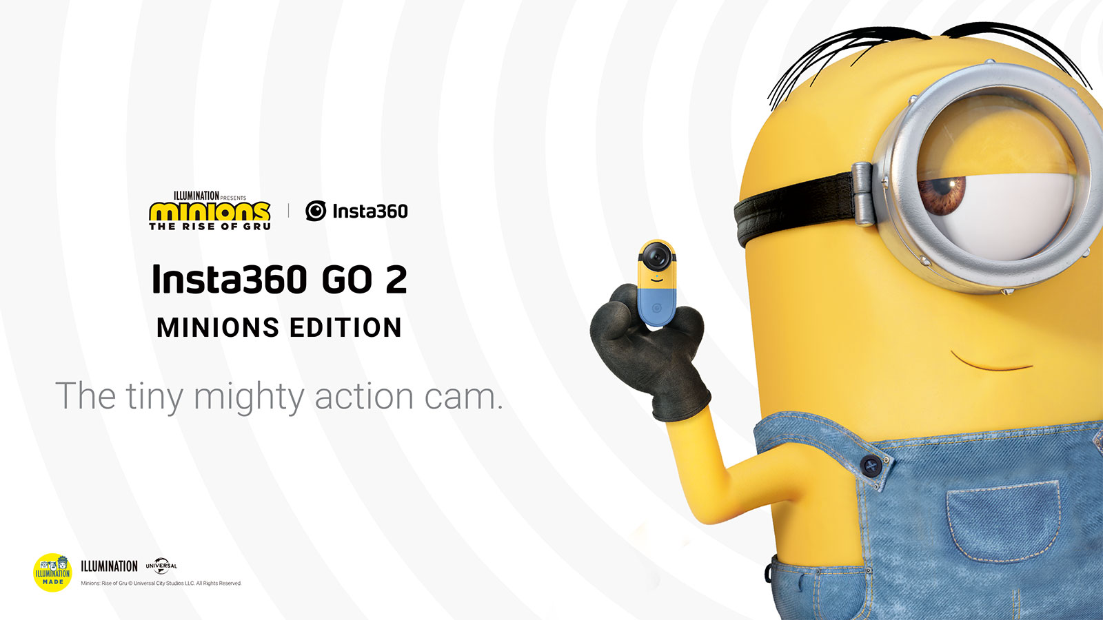 Insta360 Go 2 Minions版