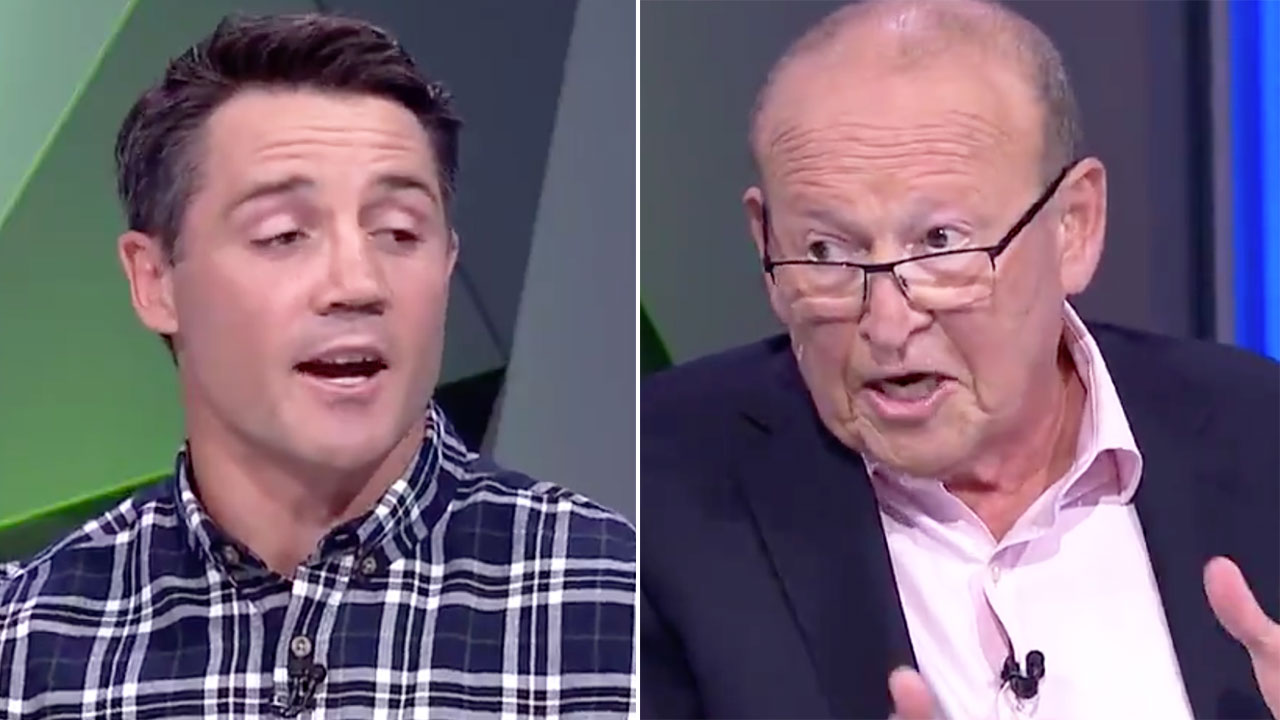 'Don't know me': Cooper Cronk in brutal live TV spat with journo