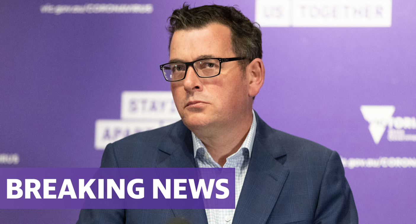 Daniel Andrews rushed to hospital after 'serious fall'