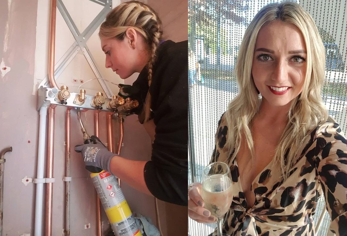 Gas engineer fighting stereotypes after being told she's wrong gender to do a 'man's job'
