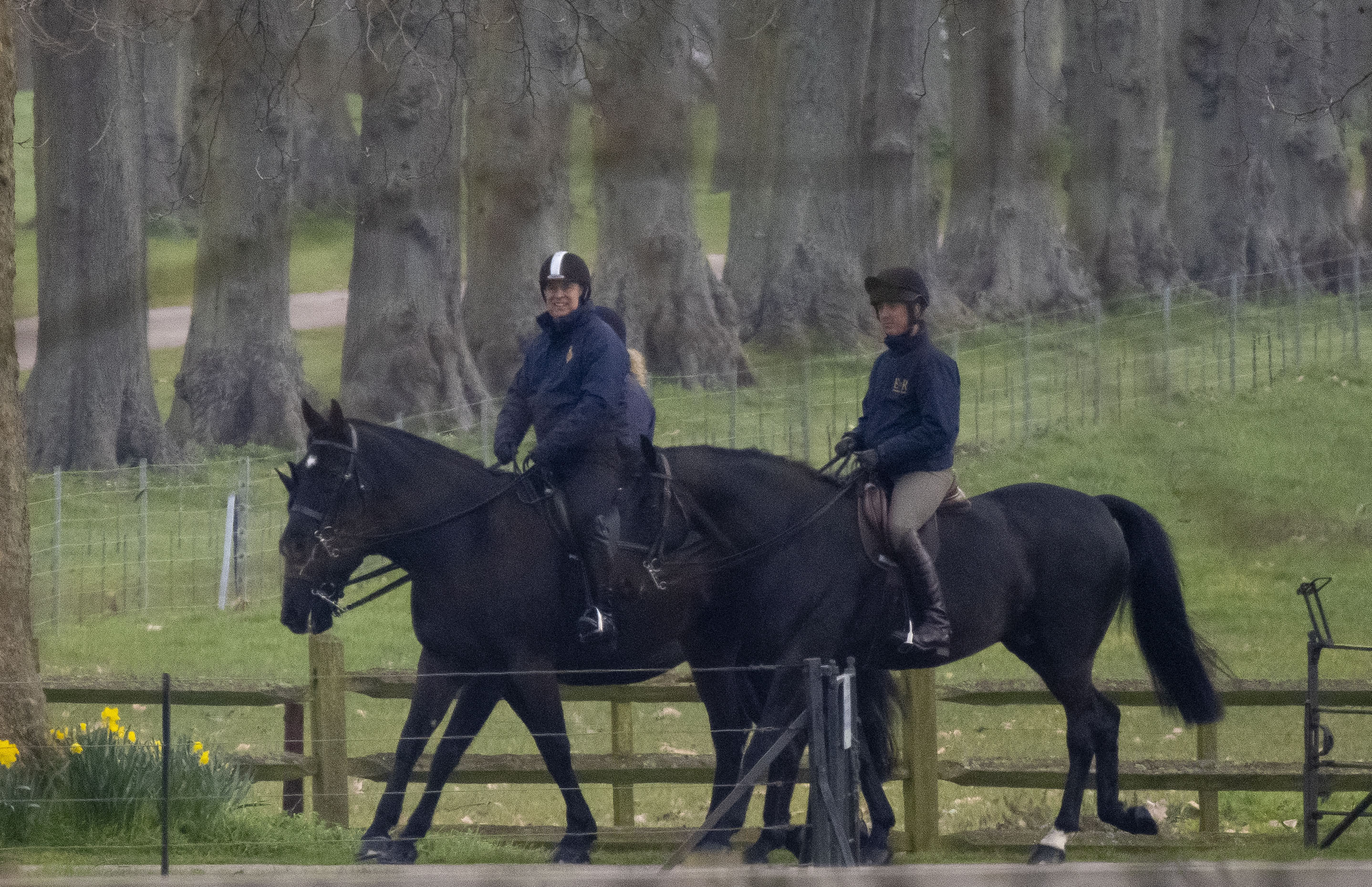 <p>Photo by: zz/KGC-09/330/STAR MAX/IPx 2021 3/17/21 Prince Andrew The Duke of York is seen on March 17, 2021 horseback riding for the first time since national lockdown restrictions were eased during the worldwide coronavirus pandemic. Andrew then visited his father, Prince Philip The Duke of Edinburgh, who is convalescing at Windsor Castle following his release from the hospital on March 16th after undergoing heart surgery. (Windsor, England, UK)</p>