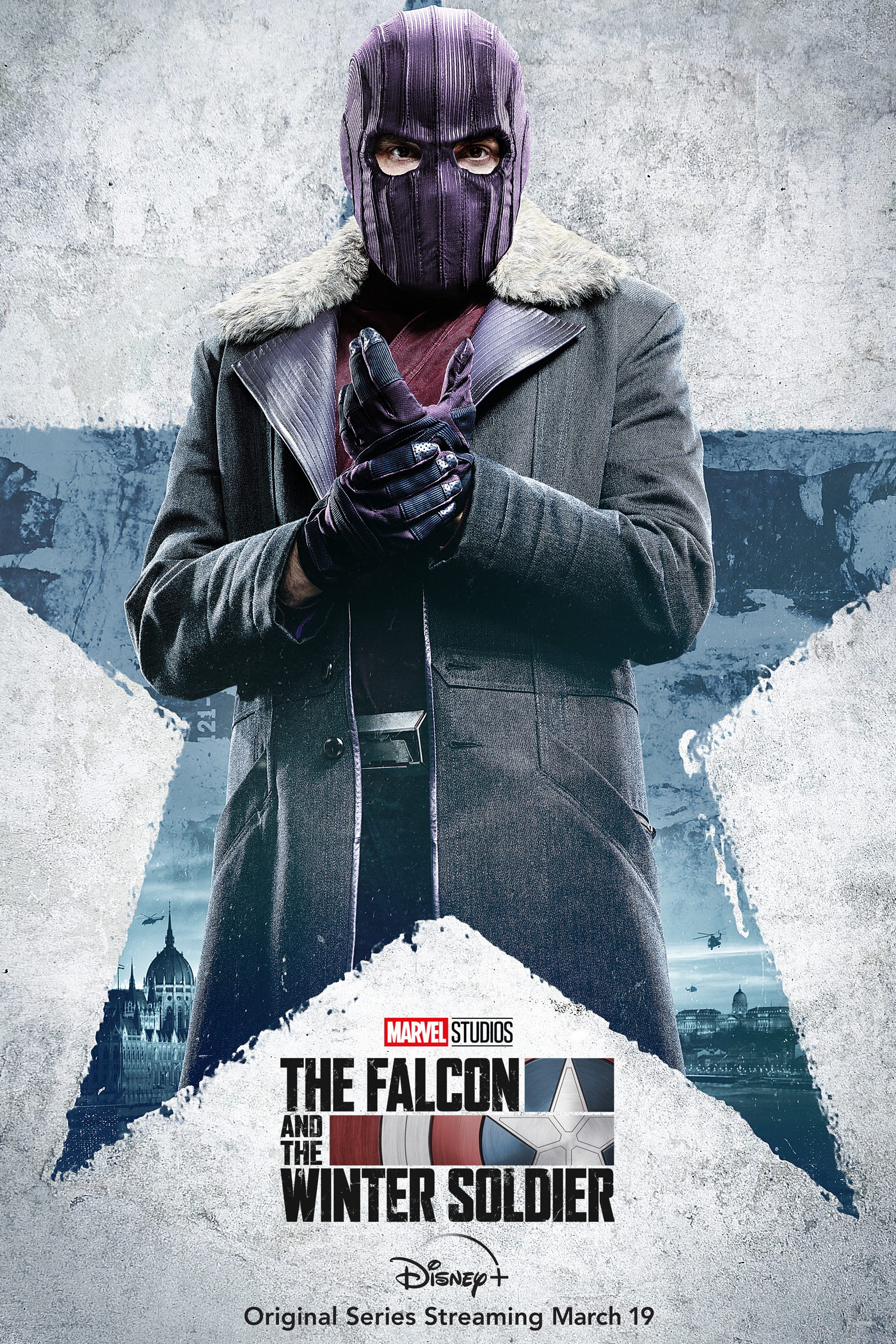 Daniel Brühl is the villainous Zemo in The Falcon and the Winter Soldier. (Marvel)