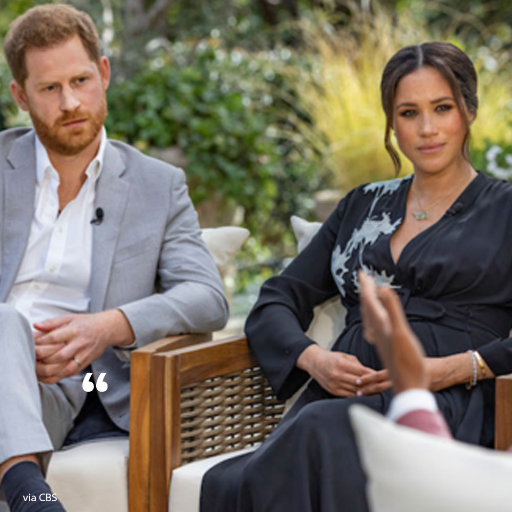 The one thing Prince Harry refused to reveal in shocking interview with Oprah